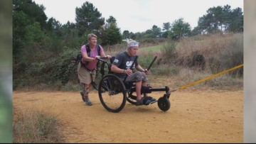 East Tennessee women return from Spain where they walked and rolled along a famous route
