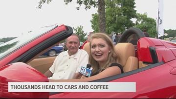 Cars and Coffee Draws Car-loving Crowd