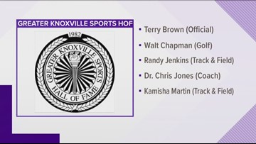 Greater Knoxville Sports Hall of Fame announces 2019 inductee class
