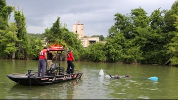 Pilot swims away from small plane crash in Tennessee River, wreckage recovered