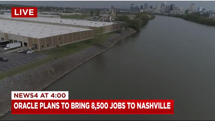 Oracle to bring 8,500 jobs, invest $1.2 billion in Nashville