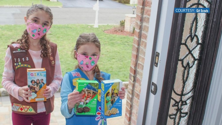 Girl Scouts get creative selling cookies during COVID-19 pandemic, selling on GrubHub starts Friday