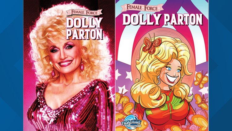 New Dolly Parton comic book is out today