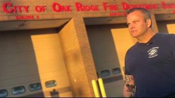 Oak Ridge fire captain living out his dream of being a stuntman
