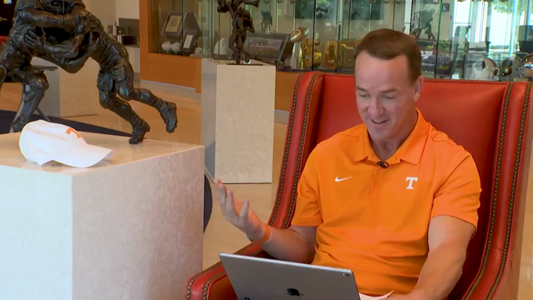 Omaha! | Peyton Manning congratulates Tennessee Baseball in new video