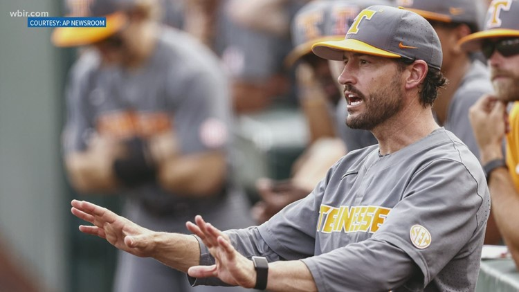 The University of Tennessee in the process of a contract extension for coach Tony Vitello