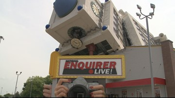 The National Enquirer Live museum & attraction is now open in Pigeon Forge