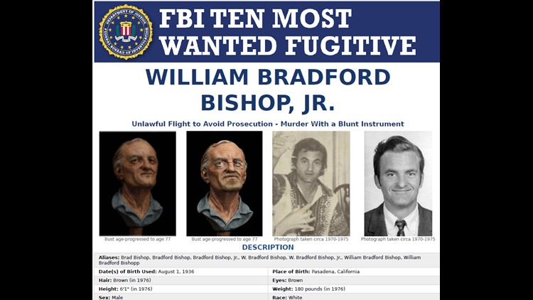 Bishop wanted poster