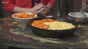 In the kitchen: Corn and tomato pie recipe