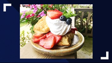 Berry simple and delicious shortcake recipe