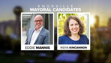 Knoxville mayoral race: Mannis, Kincannon heading to the November regular election