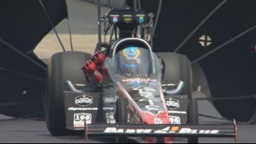 NHRA racer, Tennessee's own Clay Millican talks Bristol