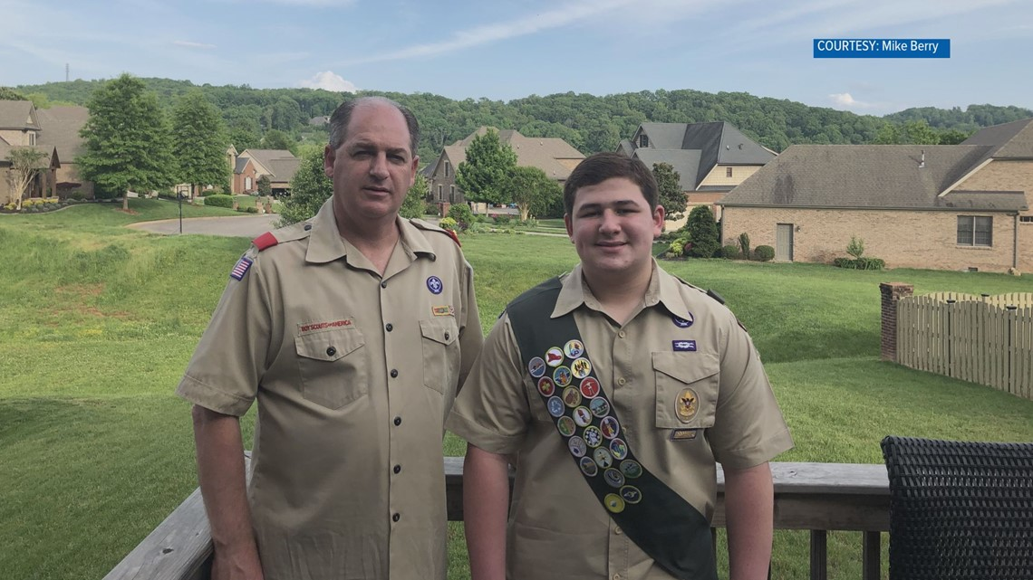 10 Rising Hearts: student's grandmother inspires his Eagle service project