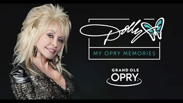 Dolly Parton celebrates 50th anniversary at the Grand Ole Opry