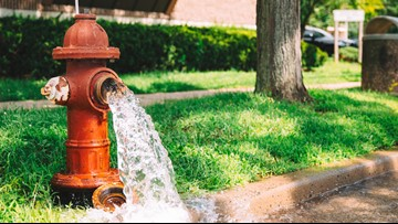 'Blasting water freely' An unknown person has been opening fire hydrants around Athens