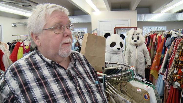 James Fisher Liquidator Big Don's Costumes Costumier Knoxville Panda Bunny