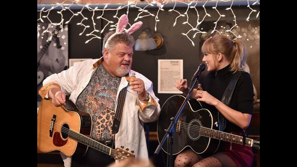 Taylor Swift Surprises Fans Shoots Whiskey Relives Love Story At