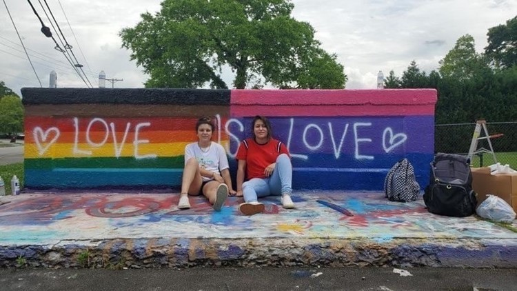Pride flags painted over twice in Alcoa after video of woman insulting teens spreads online; woman loses job