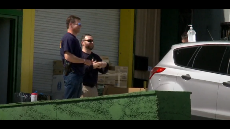 Authorities raid Grainger County plant