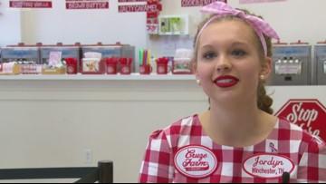 Pink ice cream at Cruze Farm raises breast cancer awareness
