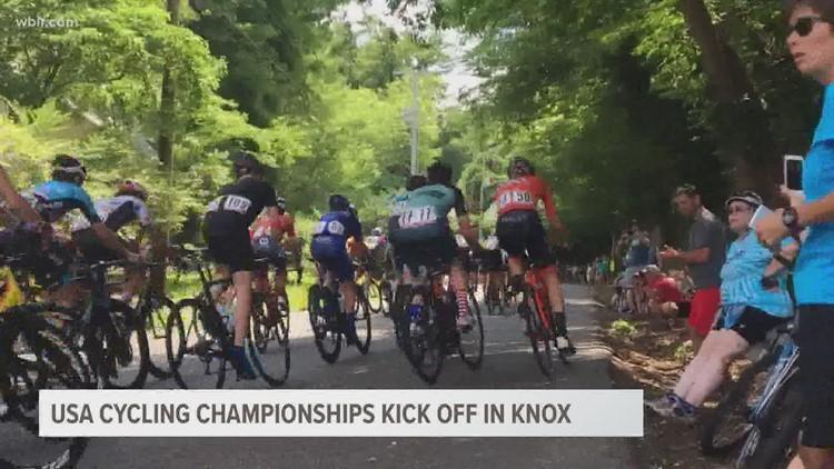 USA Cycling National Championships starts today; motorists should expect road closures