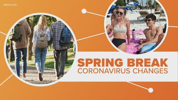Connect the Dots: College Spring Break
