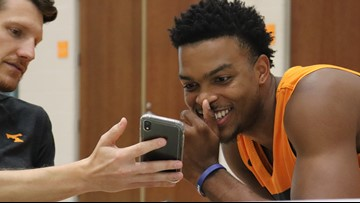GALLERY: Tennessee Men's Basketball Media Day