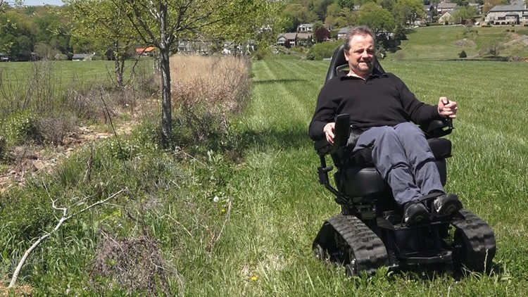 Mike Tipton All Terrain Wheelchair 01