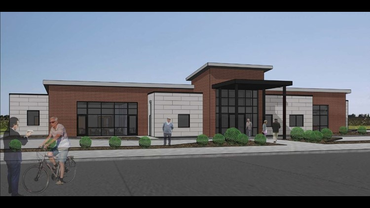 Rendering of new Oak Ridge Senior Center