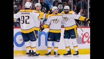 Predators squash Avalanche in series-clinching win, proceed to second round against Jets