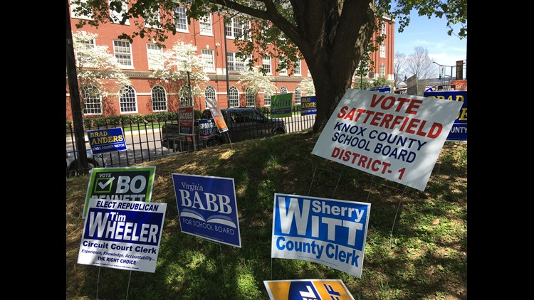 Early voting for May 22 primaries starts Monday