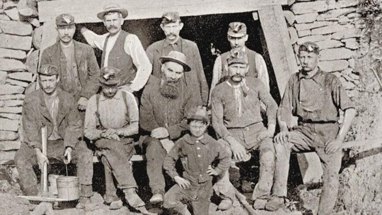 Free Miners Coal Creek 1890s