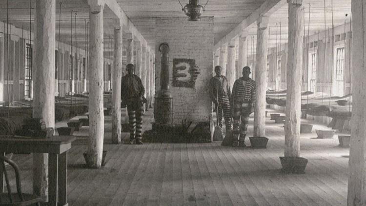 1896 Inmates Brushy Mountain Prison