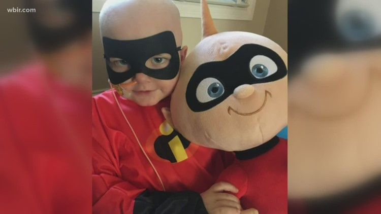 An East Tennessee family makes pajamas for kids fighting cancer