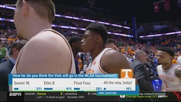 Vols to play Colgate in NCAA tournament