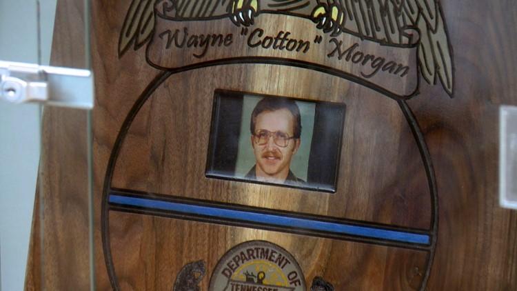 Plaque Cotton Morgan Memorial Brushy