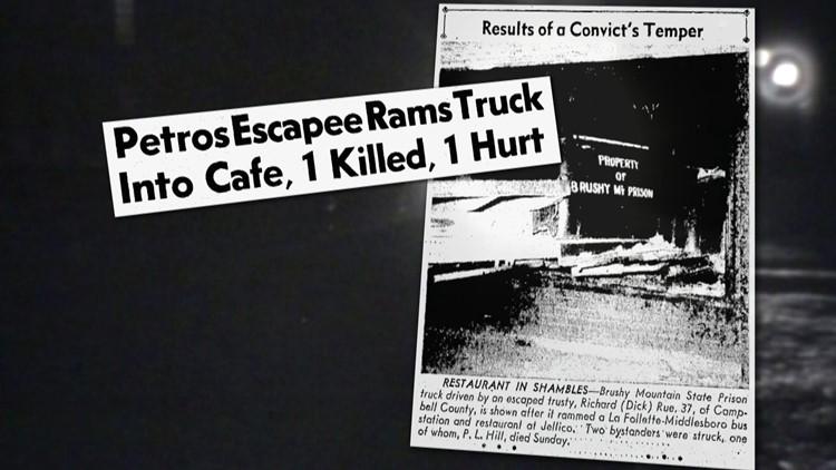 Photo Headline 1950 Brushy Escapee Jellico Rams Truck