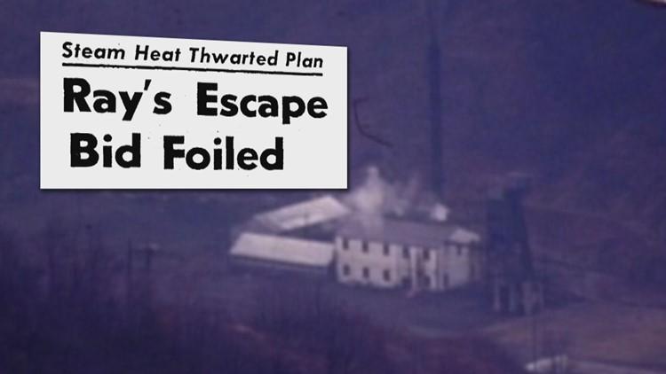 1971 Brushy Mountain Steam Plant Ray Escape