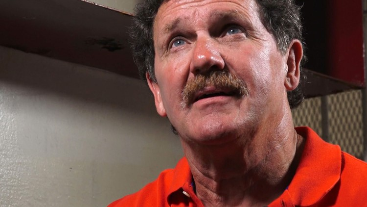Robert Gibson Eyes Brushy Mountain Prison