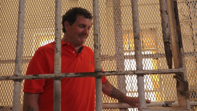 Robert Gibson Brushy Mountain Prison Bars