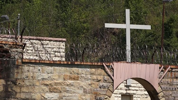 Brushy Mountain Prison Chapel Cross