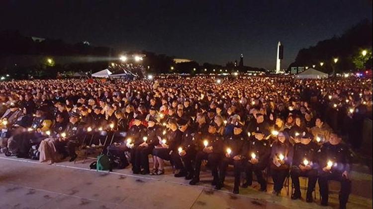 Memorial service recognizes fallen, injured law enforcement