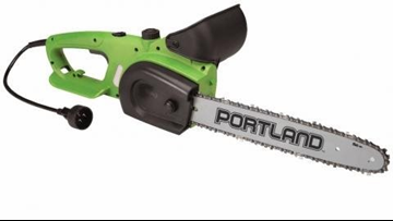 Faulty power switch prompts recall of 1M chainsaws sold at Harbor Freight stores