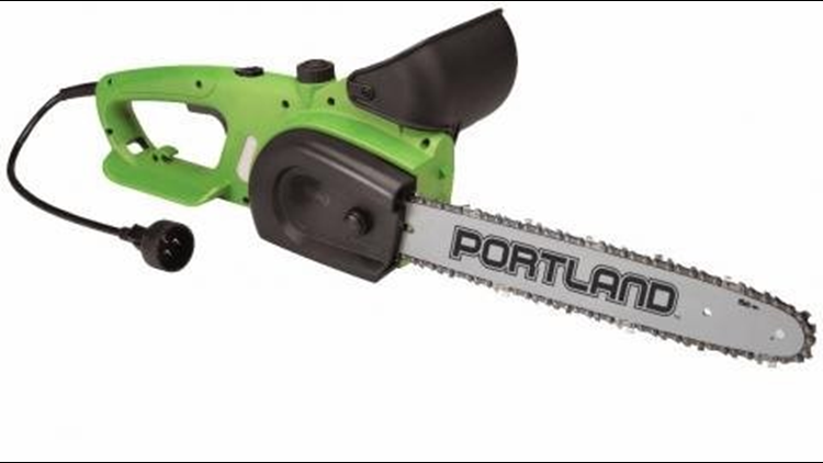 Harbor Freight Recalls More Than 1 Million Electric Chain Saws