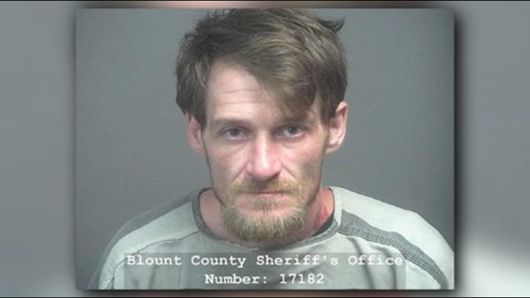 Mitchell Lee Hurley, 34, of Tuckaleechee Pike in Maryville faces charges including three counts of burglary of an automobile and driving on a revoked license, according to the Blount County Sheriff's Office.