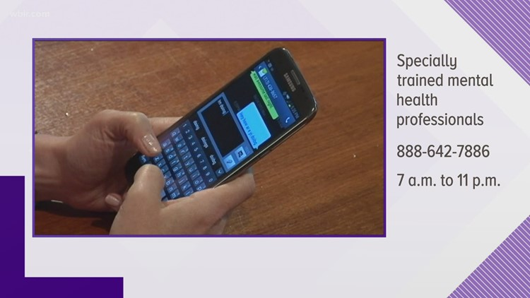 Emotional Support Line adds texting feature