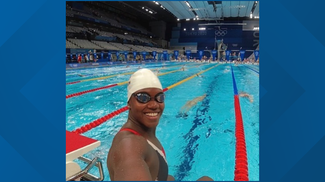 Vols swimmer achieves dream of competing in Olympics