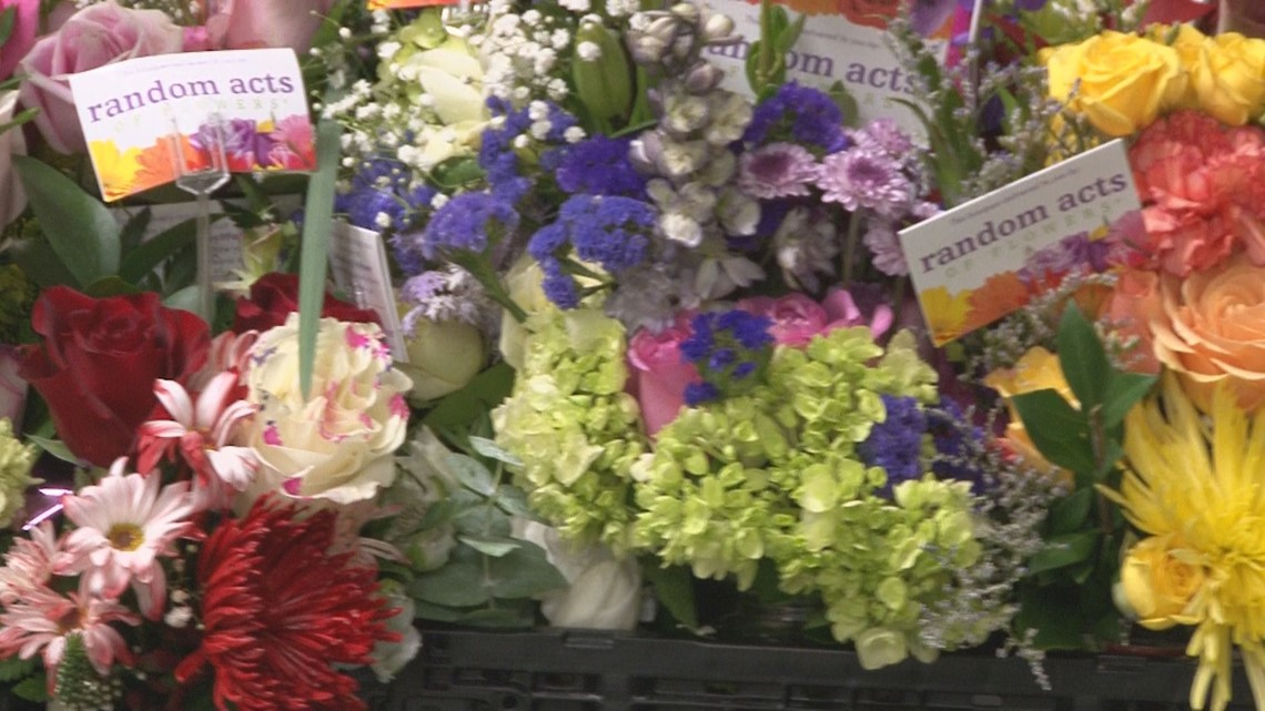 Random Acts of Flowers has delivered 100K bouquets in East Tennessee