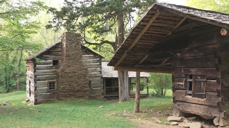 Walker Sisters Cabin Great Smoky Mountains GSMNP Smokies