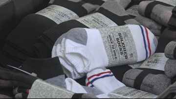 Soldiers Get a Free Pair of Socks Every Time You Buy a Pair From This NC Company